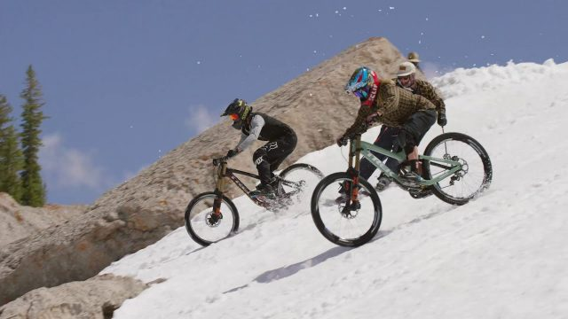 Cam McCaul and Casey Brown - Corbet's Couloir