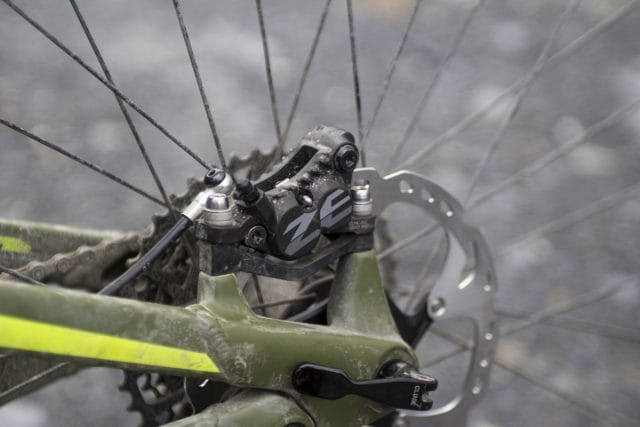 shimano zee disc brake rotor issue 115