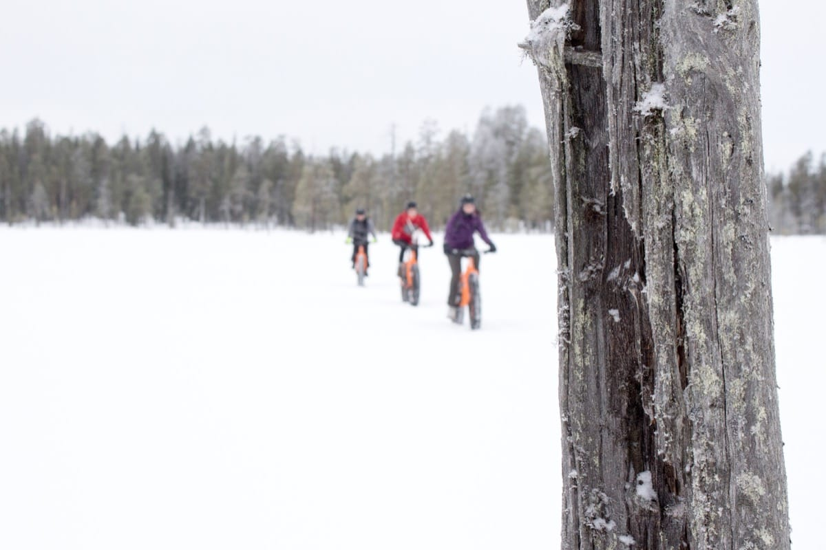 Hannah Finland Ice Snow Fat Bike