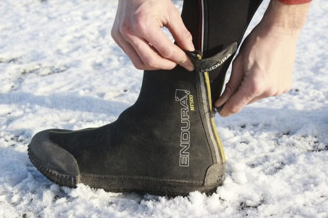 endura mt500 waterproof bootie overshoe winter