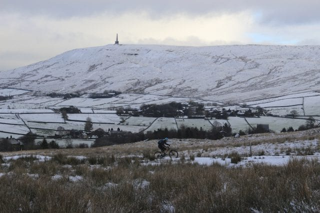 wil winter snow todmorden stoodley pike ice cold