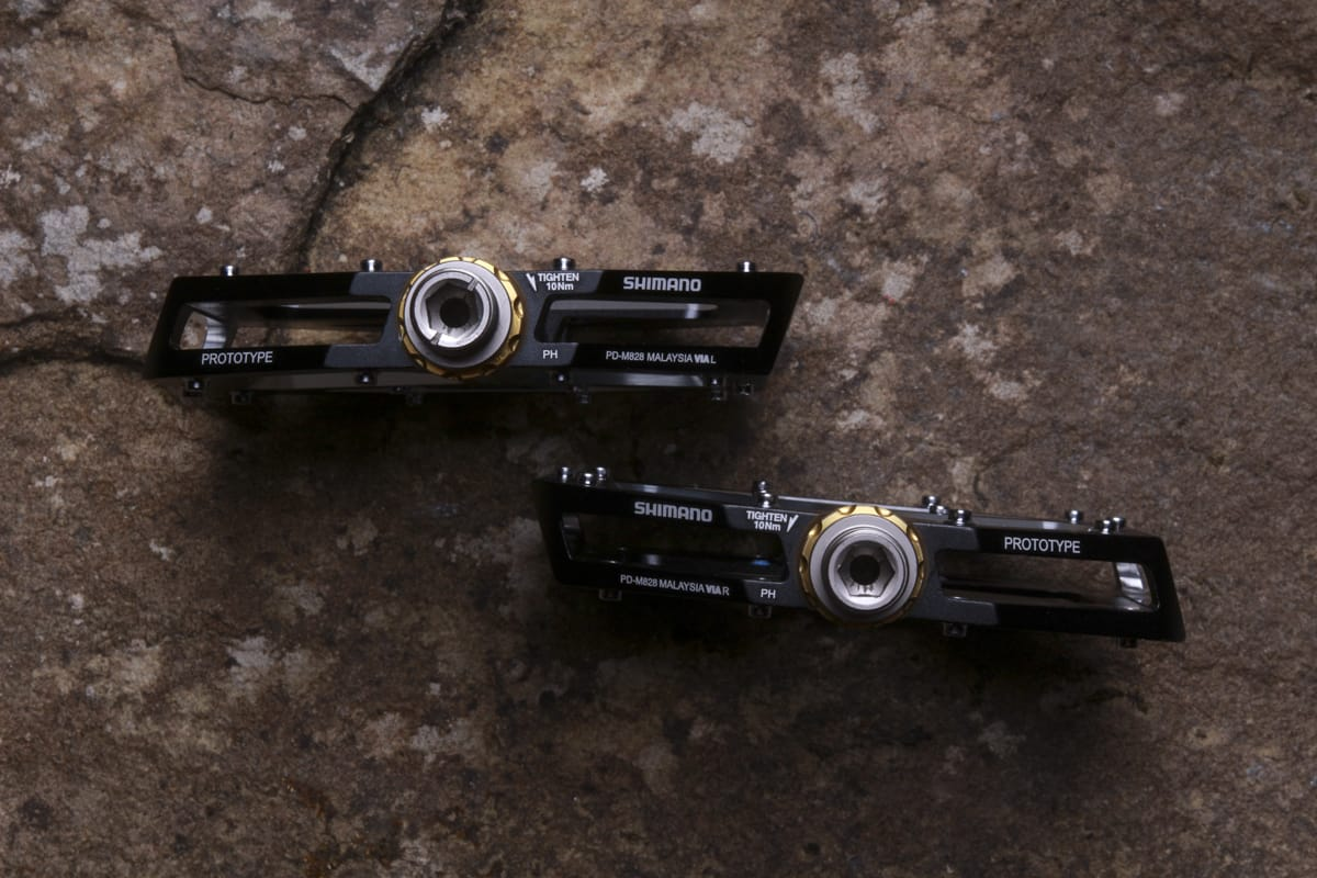 580350bf328 Exclusive! See Shimano's Prototype XT And Saint Flat Pedals. And Now ...