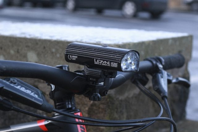 lezyne deca drive i1500 led light handlebar