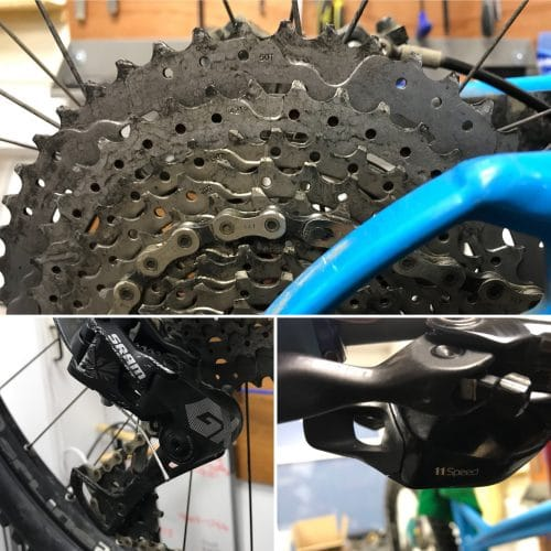 sram gx eagle 12 speed sunrace mx80 cassette shifter bodge