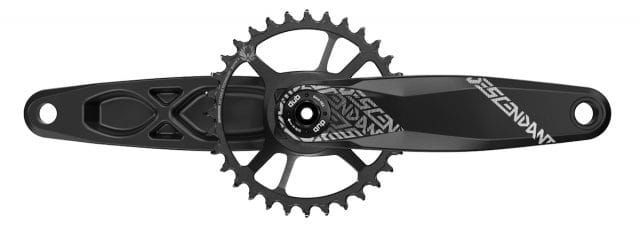 sram xx1 eagle dub crankset carbon descendent