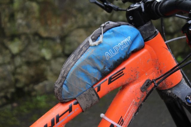 alpkit bag top tube