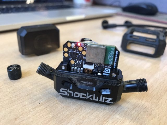 shockwiz battery electronics