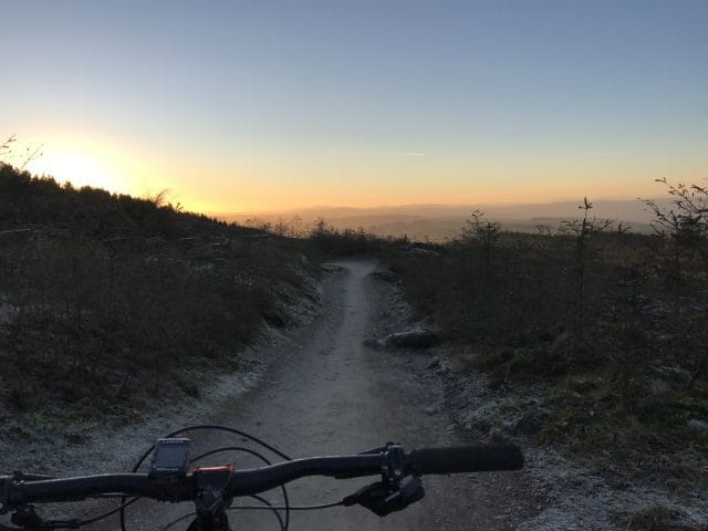 sunset llangdegla
