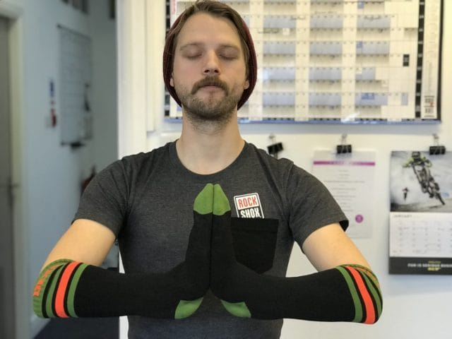 Dexshell socks Wil meditating peace