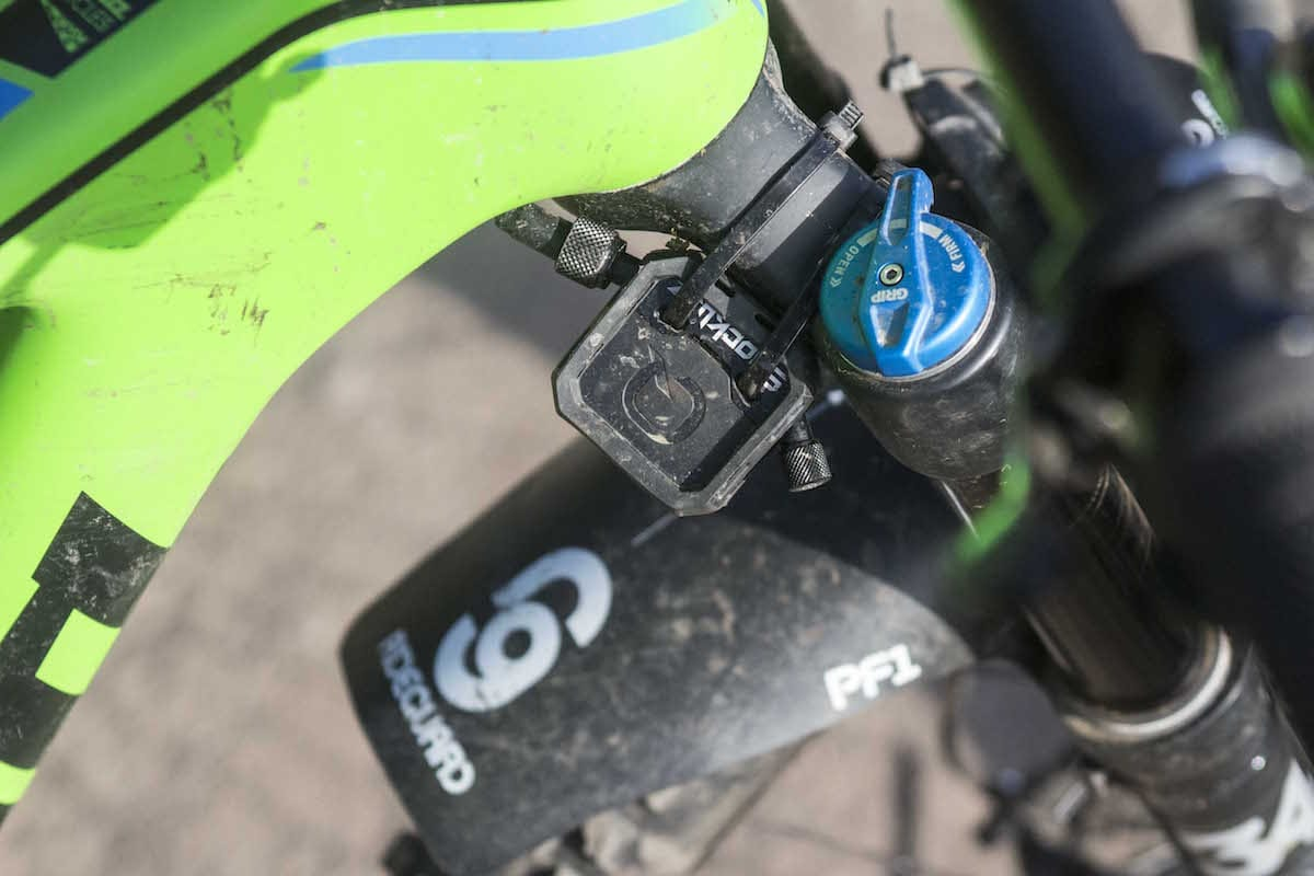 quarq shockwiz gadget electronic suspension fox 34 mudguard