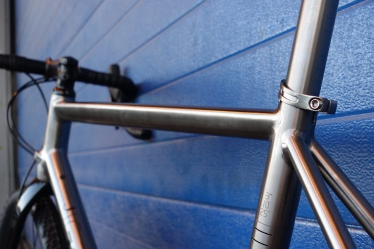 j.guillem titanium gravel bike