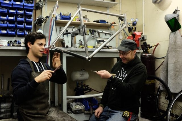 Chipps Pub Bike Framebuilding Downland