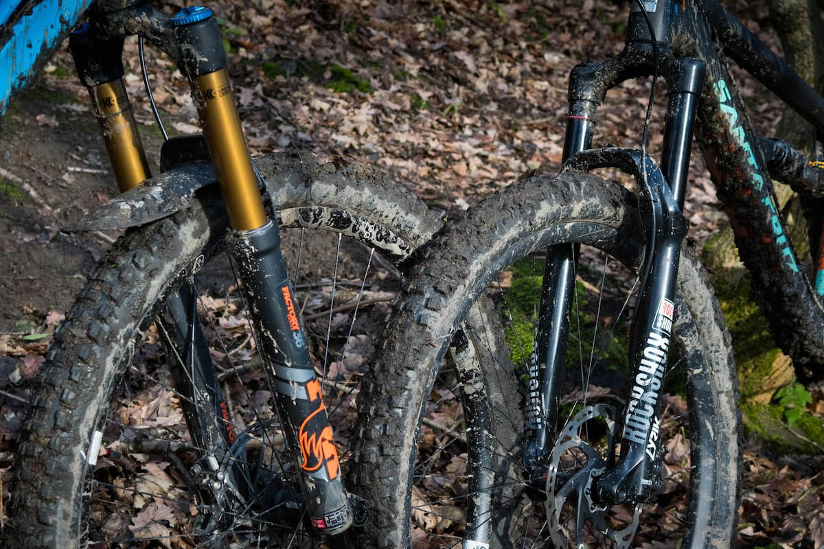 fox float 36 factory series kashima fork rockshox lyrik santa cruz orange stage