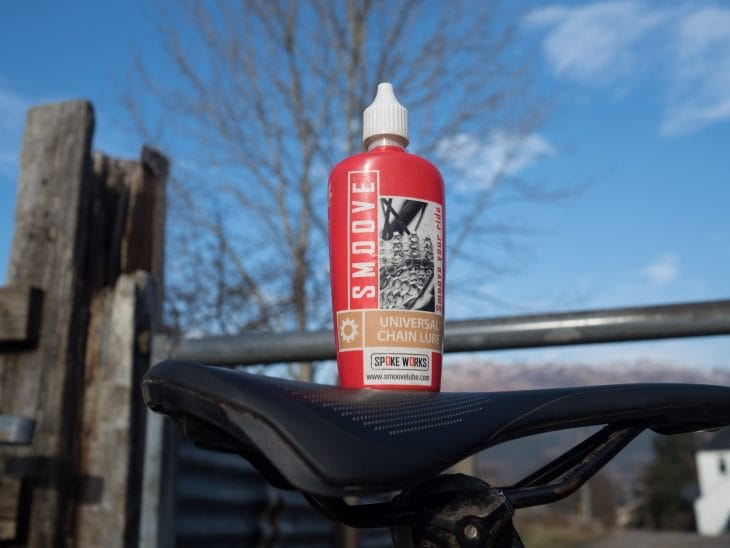 smoove chain lube review by Singletrack magazine
