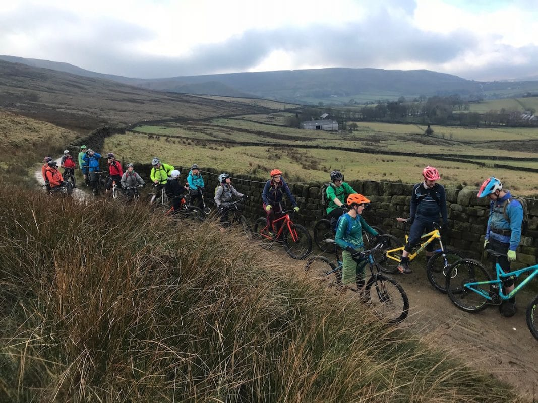 chipps calderdale todmorden winter clouds Riding During COVID-19