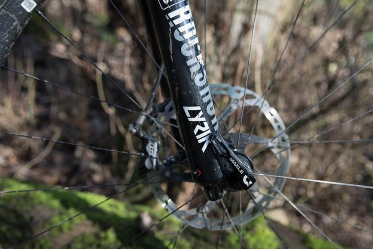 rock shox lyrik fork rct3 barney santa cruz hightower