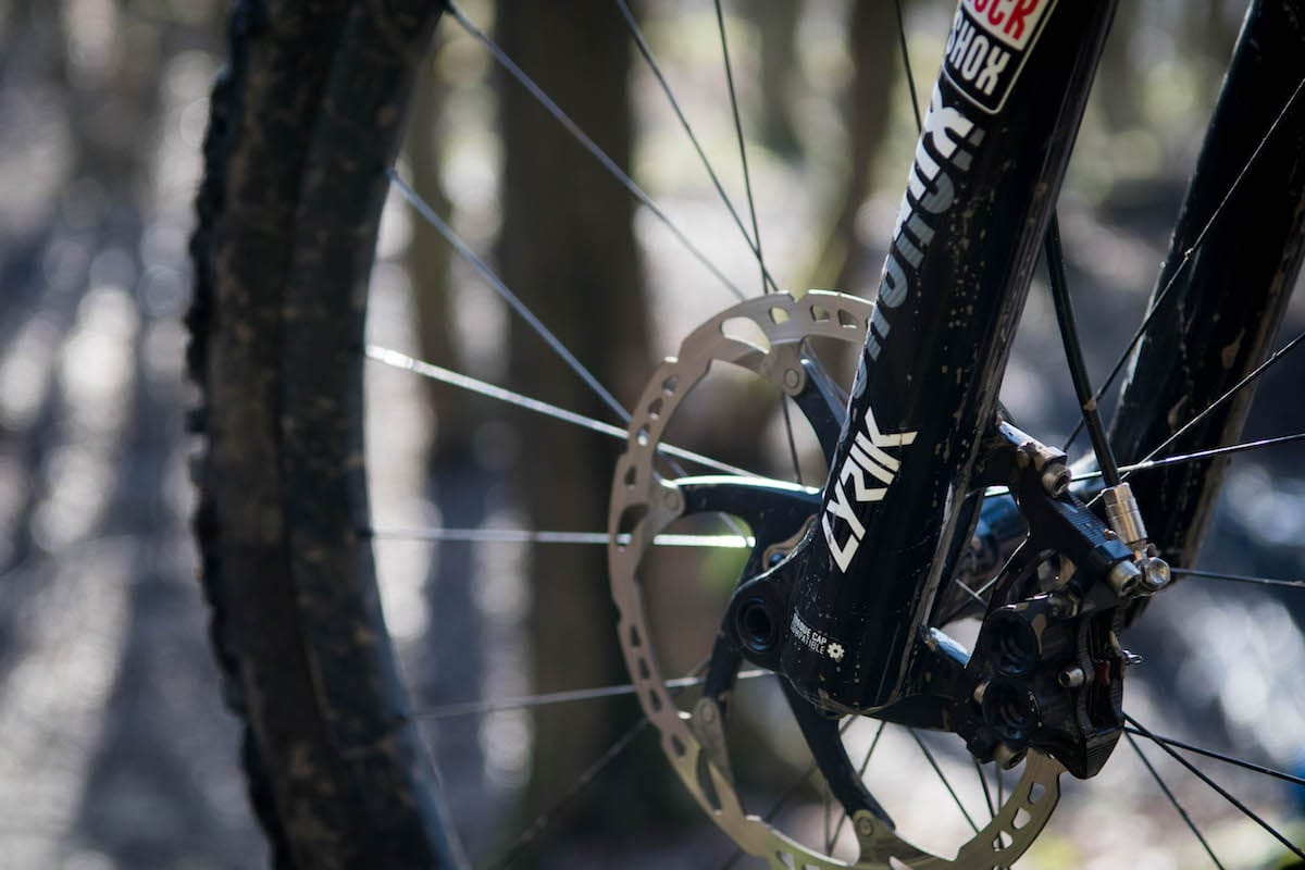 rockshox lyrik fork rct3 barney santa cruz hightower
