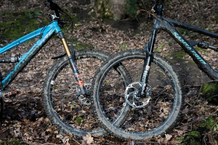 rock shox lyrik fork rct3 barney santa cruz hightower fox 36 float factory kashima