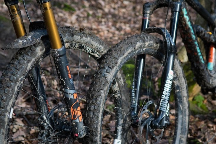 rock shox lyrik fork rct3 barney santa cruz hightower orange fox 36 kashima