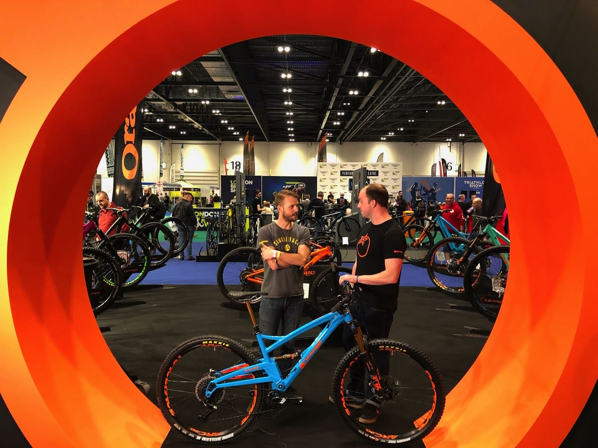 orange london bike show stage 4 wil