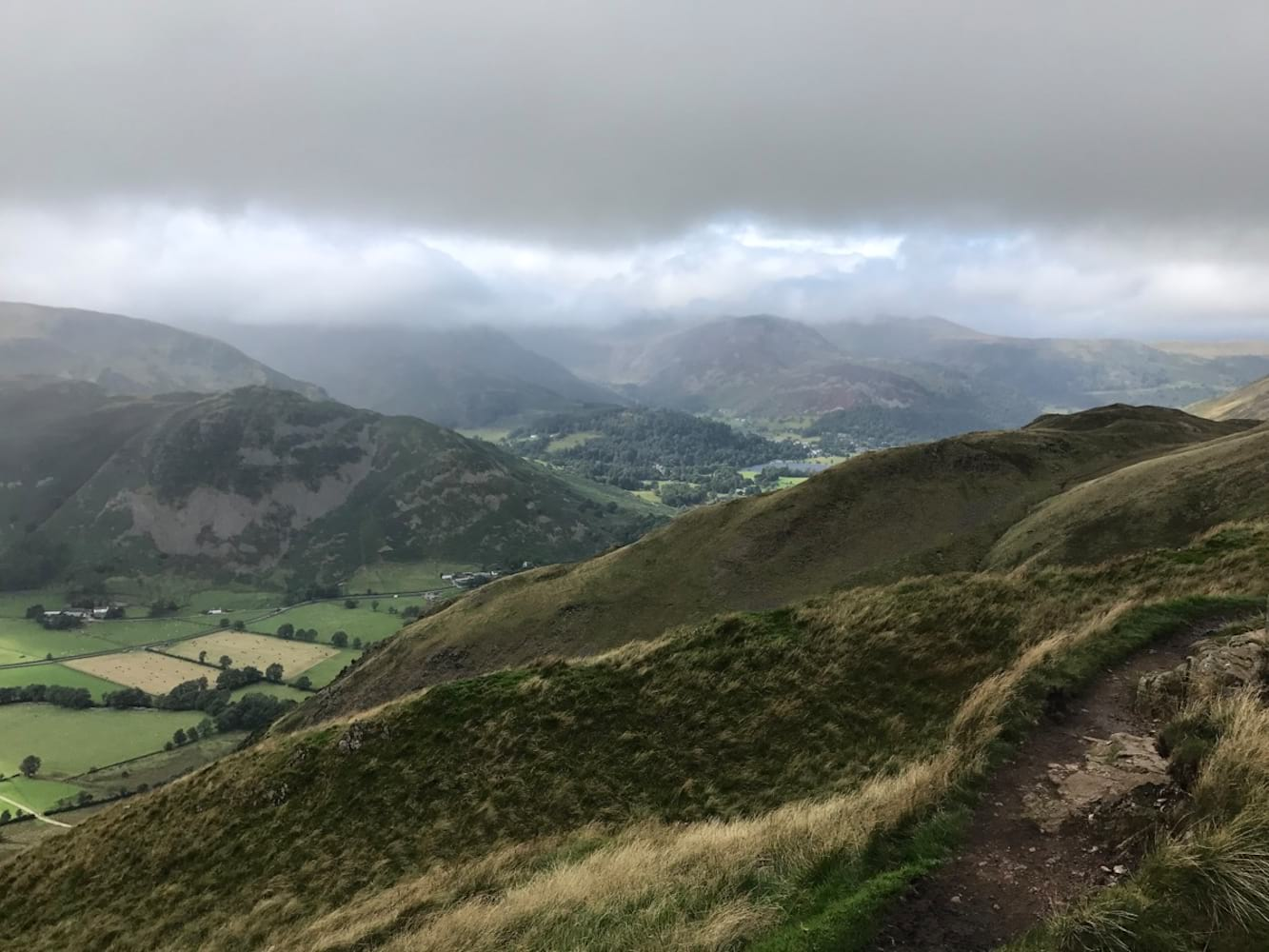 Lake District Hannah Clouds View mental health