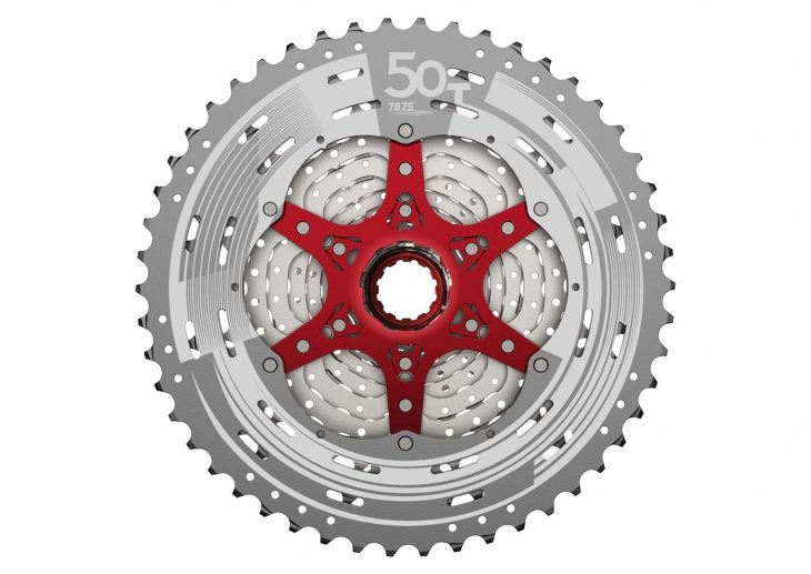 sunrace 11-50t 12-speed cassette
