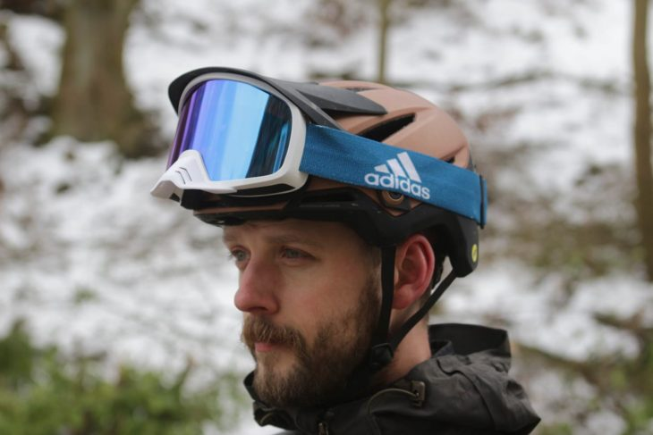 bell sixer helmet wil adidas goggle
