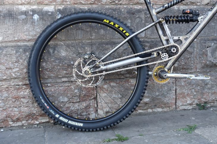 starling sturn 29er downhill bike steel coil