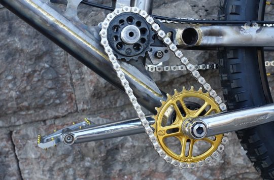 starling cycles downhill steel