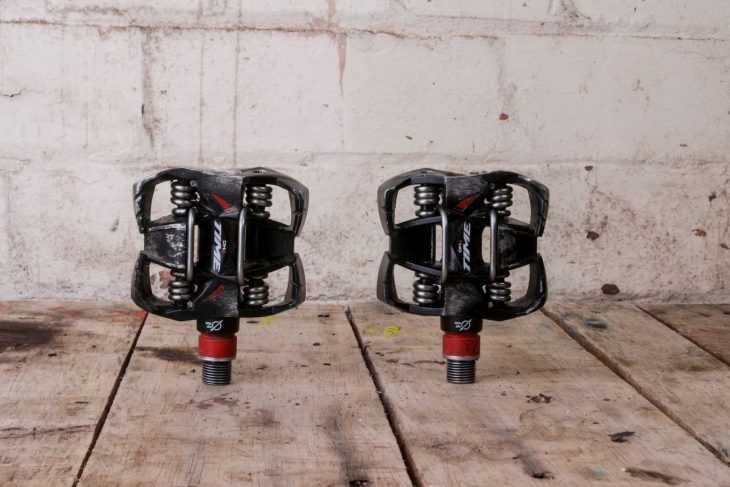 time atach dh4 pedals clip-in