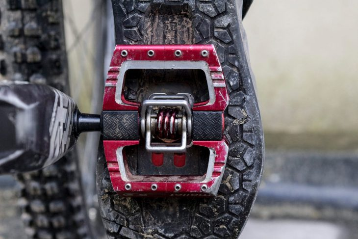 crank brothers mallet dh clip pedal cleat