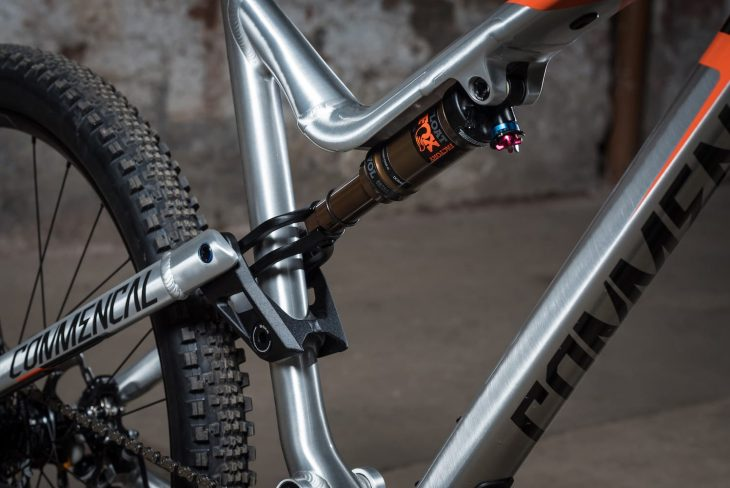 commencal meta trail fox float shock kashima