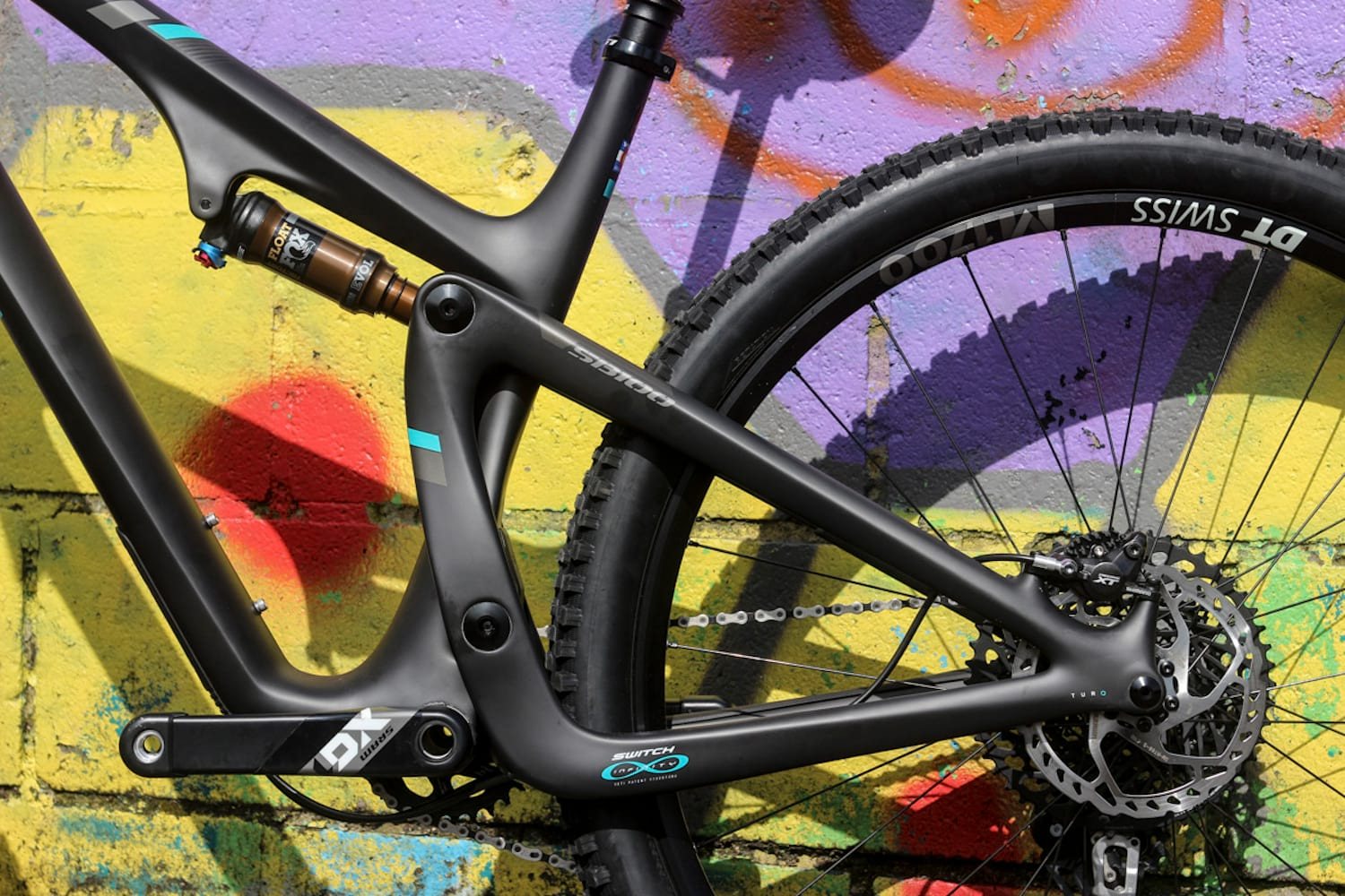 Yeti's new SB100 features a Switch Infinity suspension design like