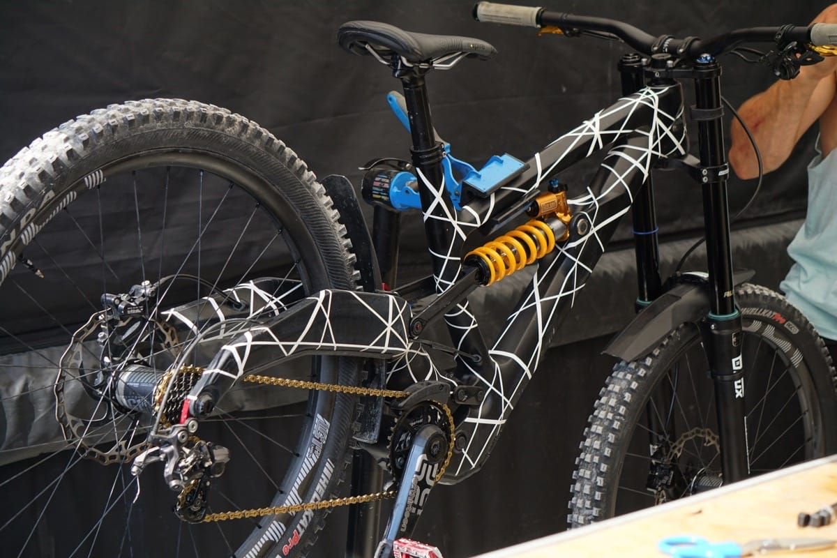 Polygon prototype downhill bike