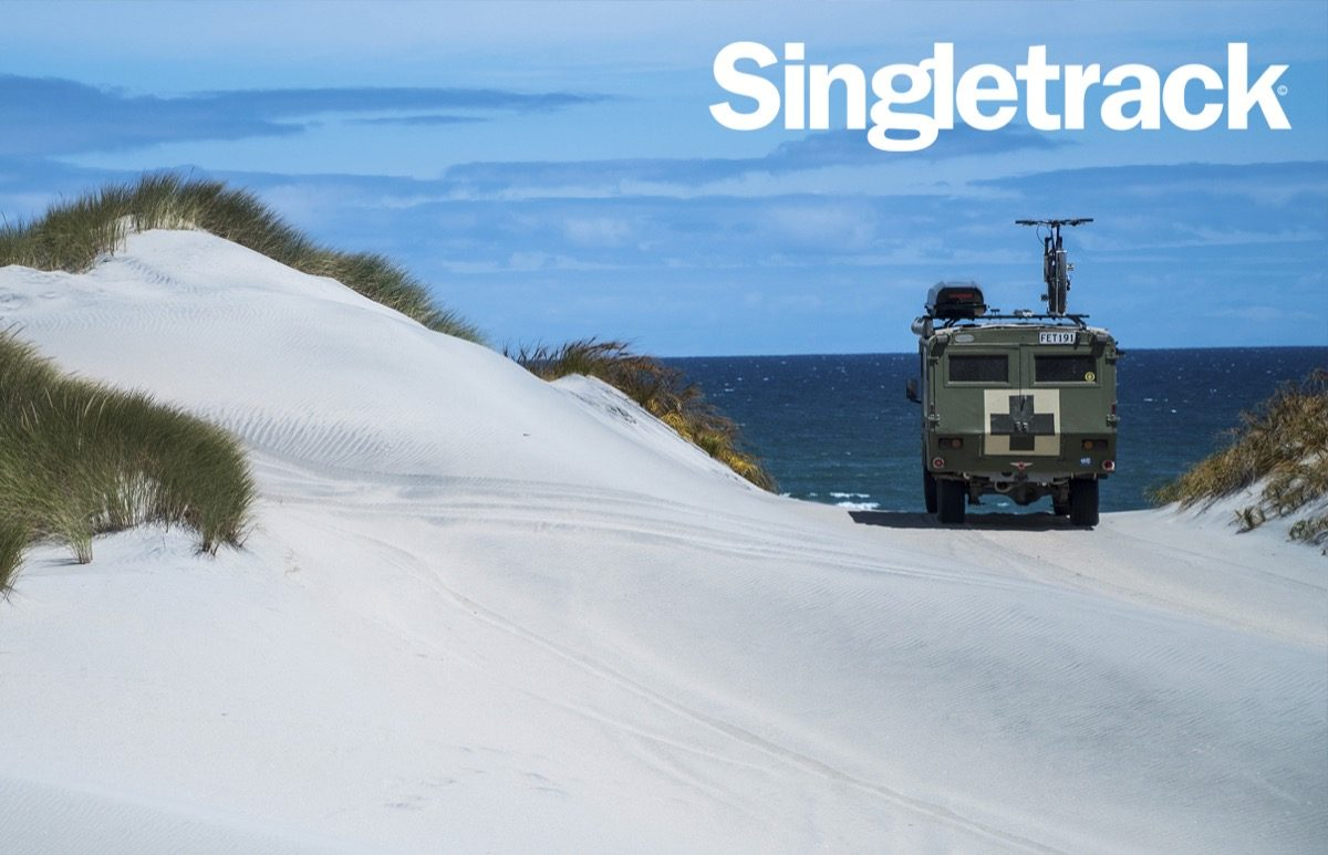 Sven Martin singletrack cover issue 119