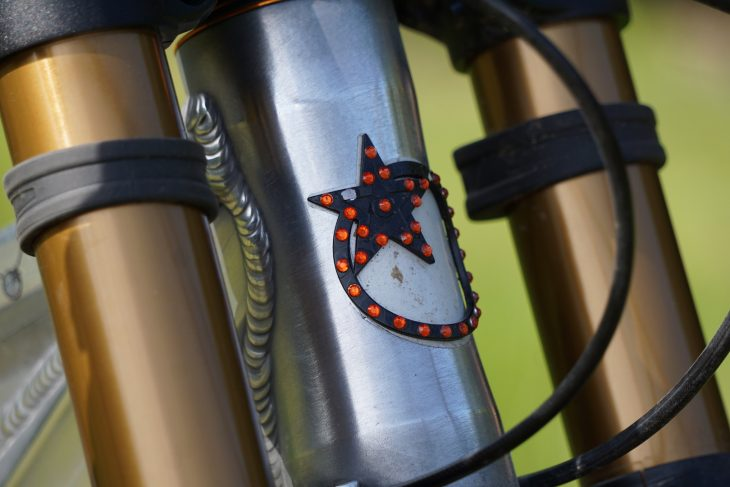 orange 329 prototype jewels head badge