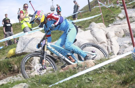 Fort William World Cup Rachel Atherton finals