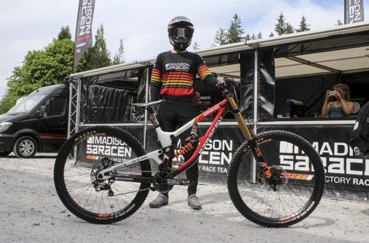 matt walker saracen myst 29er fort william
