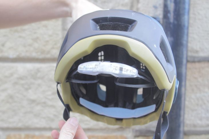 met helmet light led