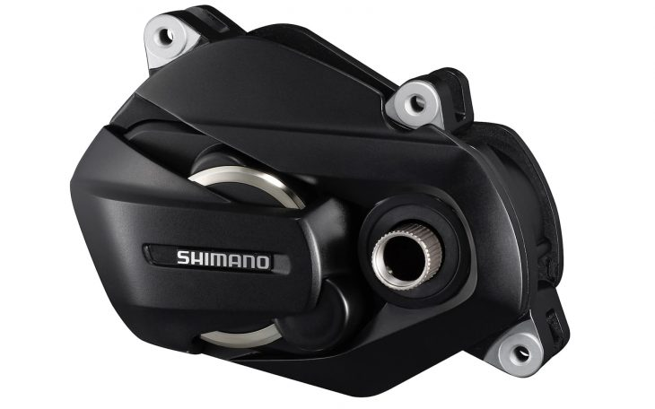 The new Shimano STEPS E7000 motor.