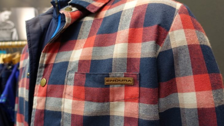 endura lumberjack jersey jacket plaid