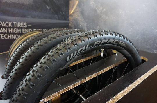 Wolfpack tires eurobike