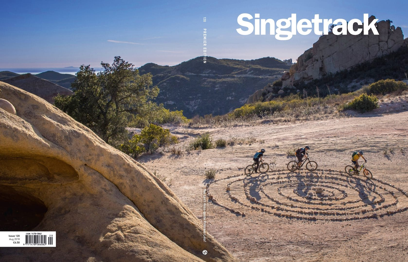 singletrack magazine issue 120 cover