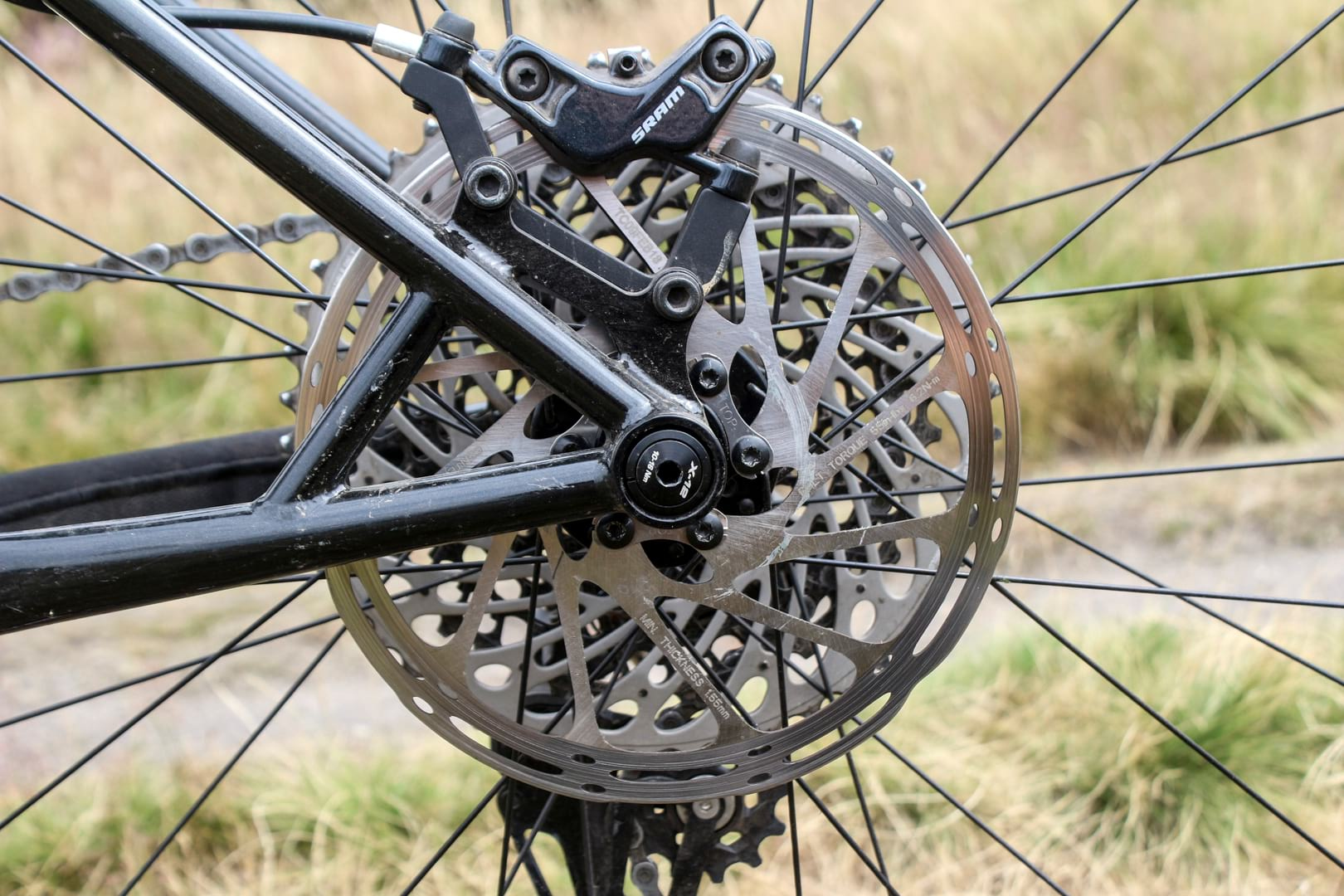 sram guide t disc brakes rotor