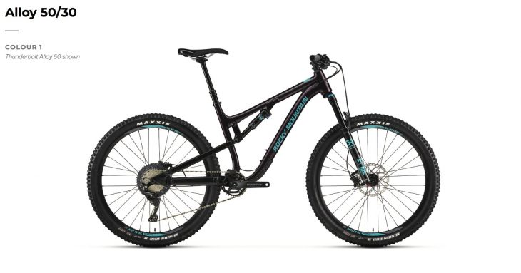 2019 rocky mountain thunderbolt alloy