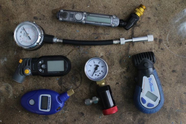 tyre pressure gauge topeak schwalbe evt oxford products fabric lezyne