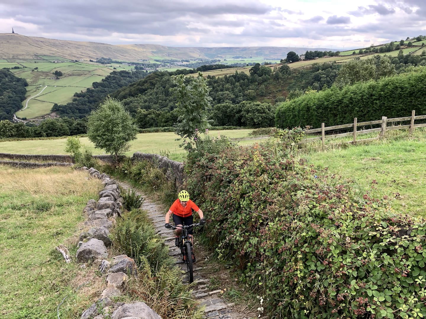 finding local trails with komoot singletrack magazine hebden bridge