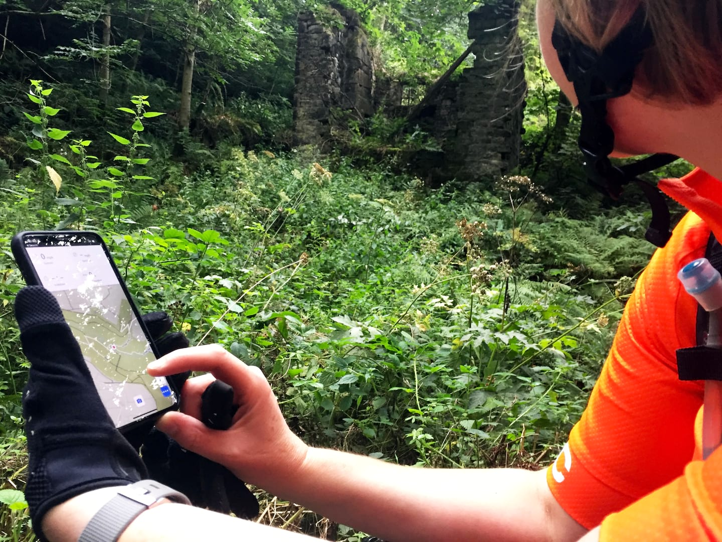 finding local trails with komoot singletrack magazine app
