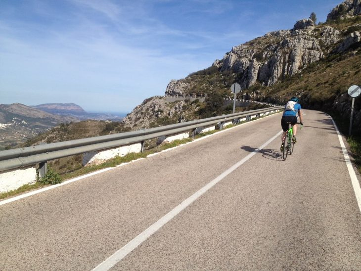 road riding spain