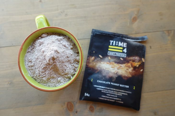 time4nutrition protein whey drink